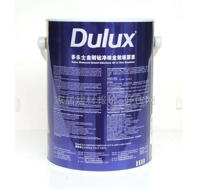 多乐士金刚钻净味全效墙面漆 背面效果图