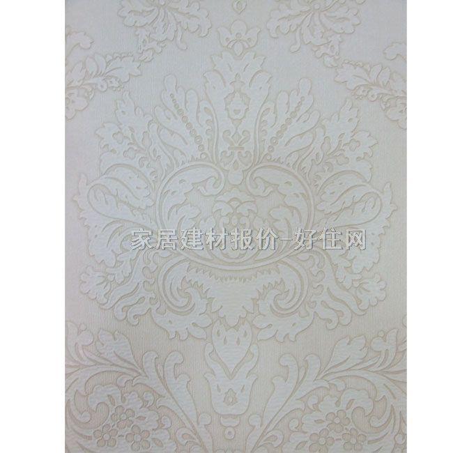 米灰色墻紙貼圖-9; 在實際粘貼中