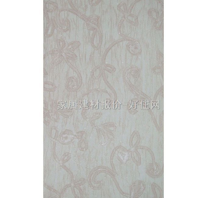 灰色竖条壁纸带欧式花