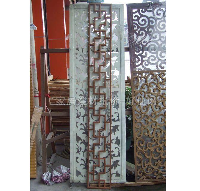 【新世纪木雕中式方窗花格