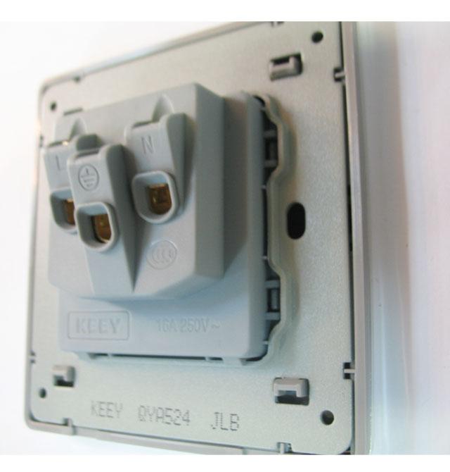 【企一照明强电插座面板