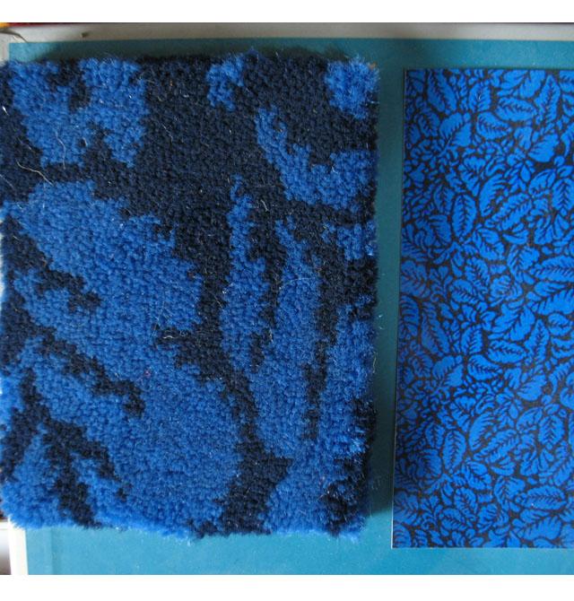 daqing家庭满铺地毯 深蓝色尼龙地毯8161-3 订造
