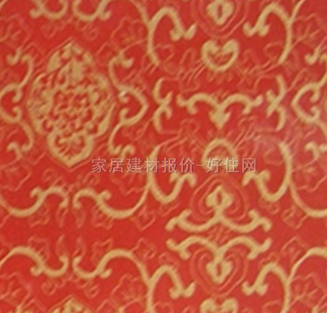 明大玻璃纸 红色花纹m-906 宽1220mm×长50米