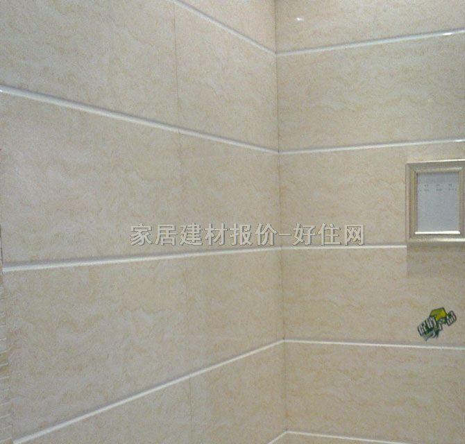 【欧威墙面砖_釉面砖浅灰色纹理图案w3026