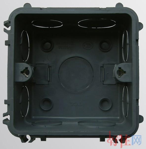 tcl-罗格朗底盒(接线盒) pvc n95130 80mm×80mm×45mm×单盒