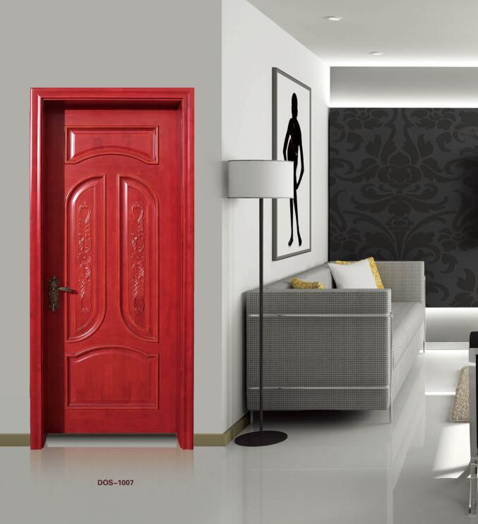 帝奥斯门窗铝合金门 原木门室内门卧室门 订做