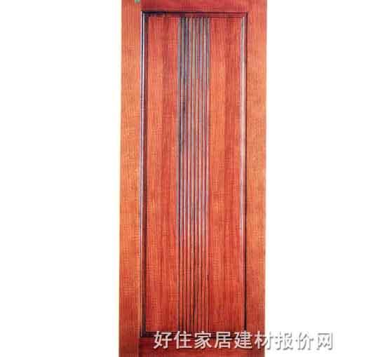 六喜源原木实木门 胡桃木me-001 2000×800mm