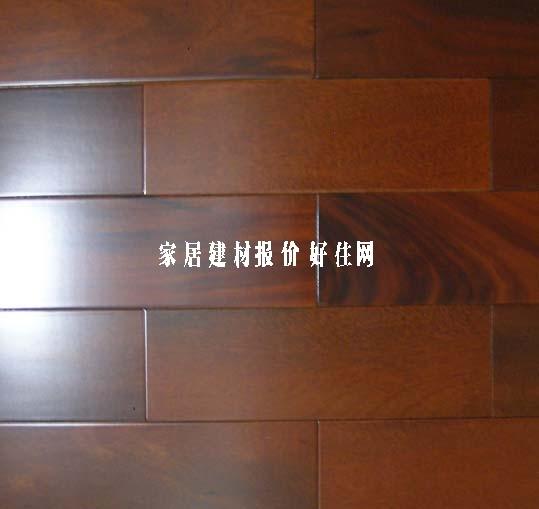 企口实木地板_圆盘豆(非洲紫檀)