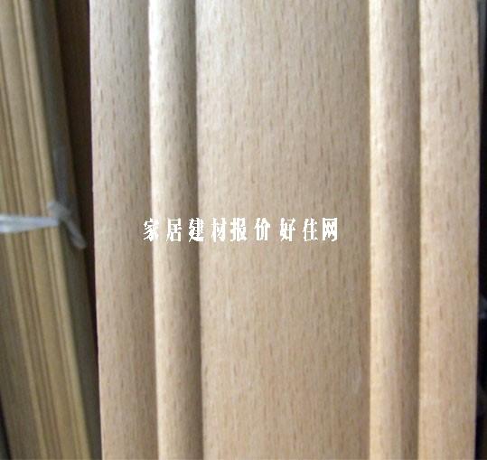 南丰实木装饰线条 收口平线榉木 30mm×1.5mm