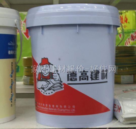 德高 厨卫专用防水 柔韧性HMJ 011 涂料,防水涂料图片