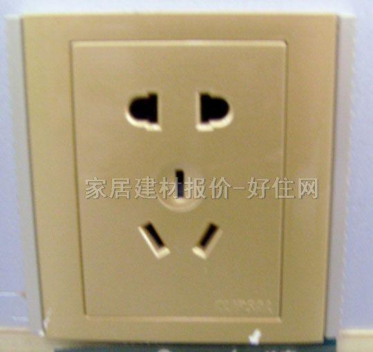 规格尺寸:二三极 型号别名:e2426/10v-ga(cd) 生产厂家:奇胜电工 该