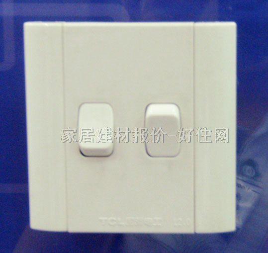 6 元/个 品牌名称:tcl-罗格朗 产品品系:开关,插座,断路器 产品品名