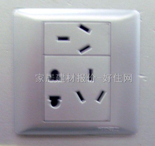 3 元/个 品牌名称:松本 产品品系:开关,插座,断路器 产品品名:插座