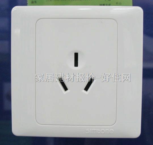 【西蒙强电插座面板_51681