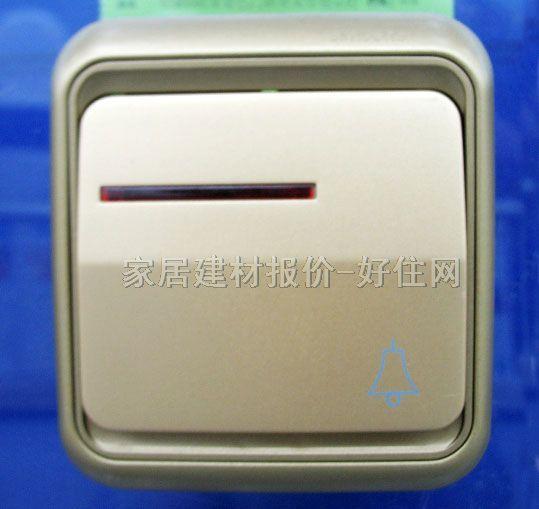 门铃开关 规格尺寸:常用规格 型号别名:带指示灯6016 生产厂家:西蒙