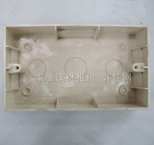 tcl-罗格朗底盒(接线盒) pvc t146 100mm×200mm×60mm×单盒