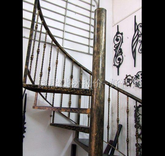 广胜室内楼梯 全铸铁工艺gs-002 订做