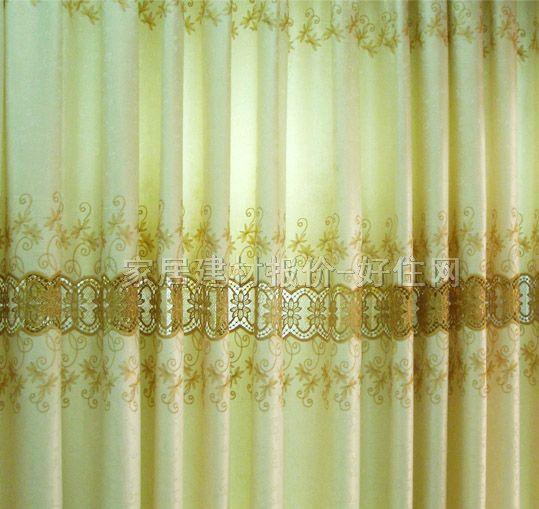 暖色调欧式窗帘