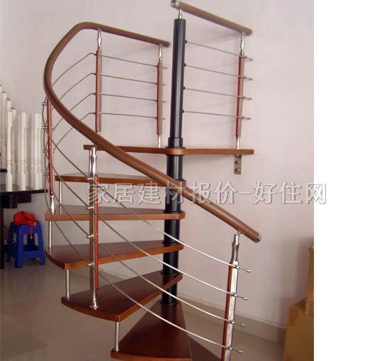 木扶手钢结构橡木zg-9002