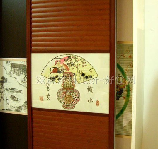 维高 推拉衣柜门 圆弧趟门01 实拍图片