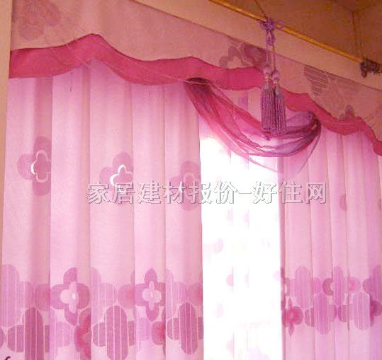 特耐 雕花窗帘布 配布 帘幔素 窗帘布艺,窗帘布图片