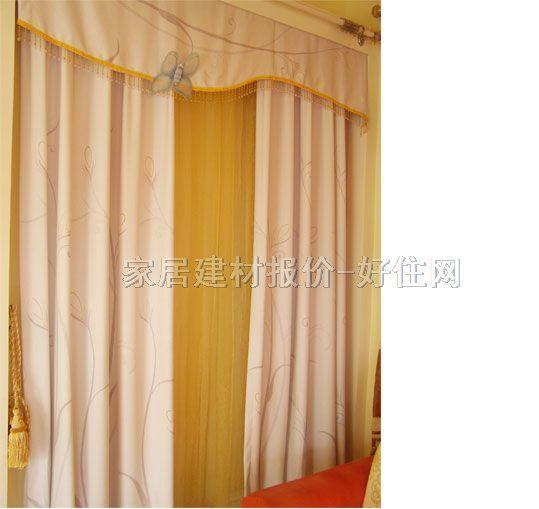 特耐 丝质窗帘布 黄金丝内 窗帘布艺,窗帘布图片