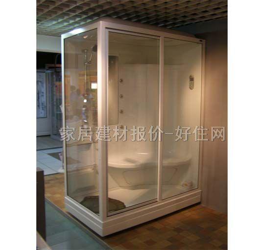 """740)this.width=740"""" border=undefined> 4000元-10000元区间的整体淋浴房。整体浴房大致分为两种:简单升级、全面升级。简单升级只是增加了一些按摩功能,如阿波罗TS-150W就有一个活动的足底按摩器,可以坐在内设的椅子上或是底盆里使用,这种配置的整体浴房小规格一般不会超过5000元,大规格不会超过6000元。全面升级的整体浴房洗澡就更舒适了。除多种按摩功能外,特设了蒸汽发生器,在家也能洗纯正蒸汽浴了。蒸汽整体浴房小规格的6000元左右,大规格的就得近万元了。"""
