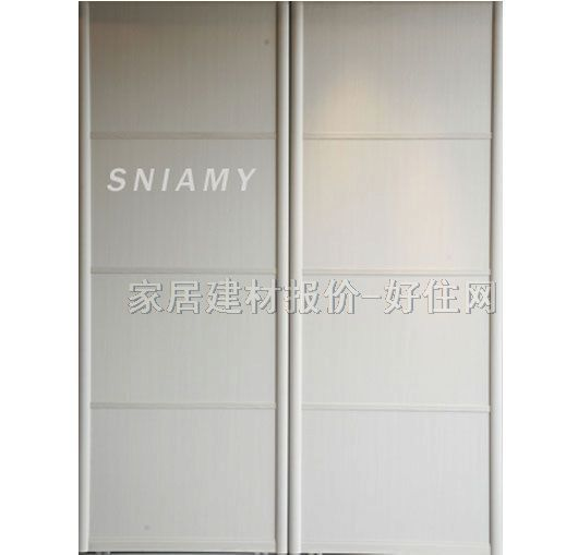 诗尼曼 衣柜推拉门 白橡同色边框评论列表