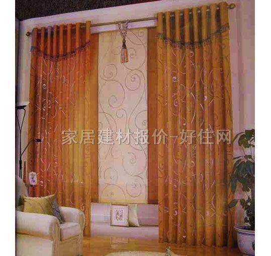 家饰美垂帘竖帘落地帘 b0902-1 订做 纱帘 暖色调