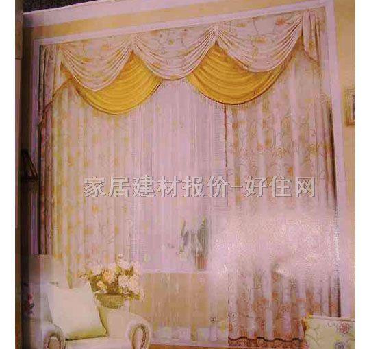 家饰美垂帘竖帘落地帘 e0910-2 订做 纱帘 暖色调