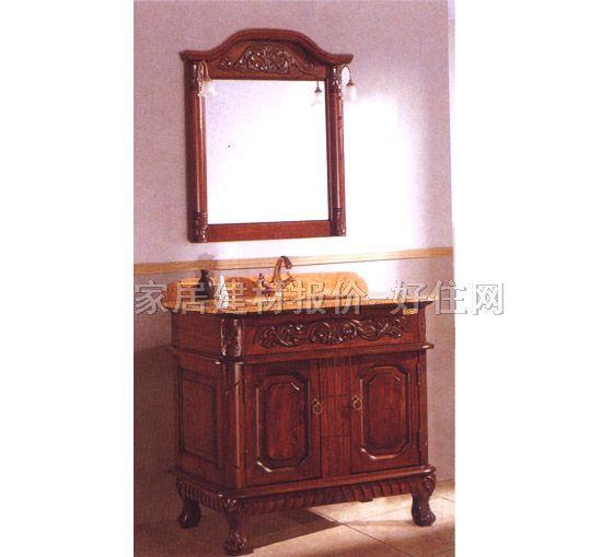 歌然柜盆镜组合实木 gr024常用规格