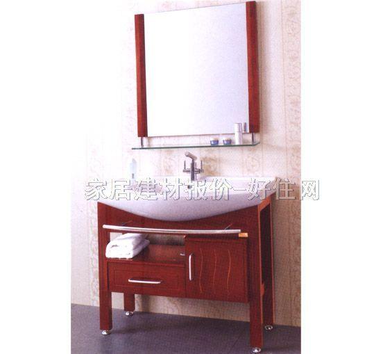 歌然柜盆镜组合 实木 gr810 常用规格