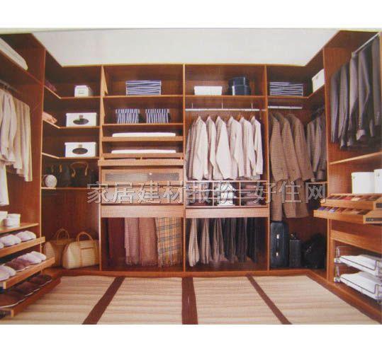 2米高衣柜带吊柜内部合理设计图