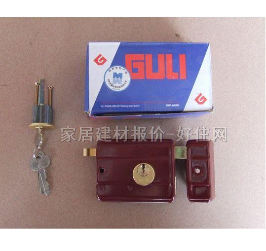 固力防火防盗门锁 大门锁 35mm-50mm