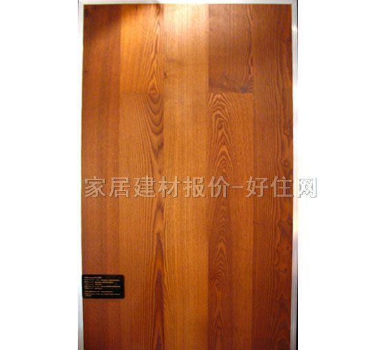 特佳实木复合地板 三层实木复合 船甲板系列-独条炭化刷油蜡木 1800mm