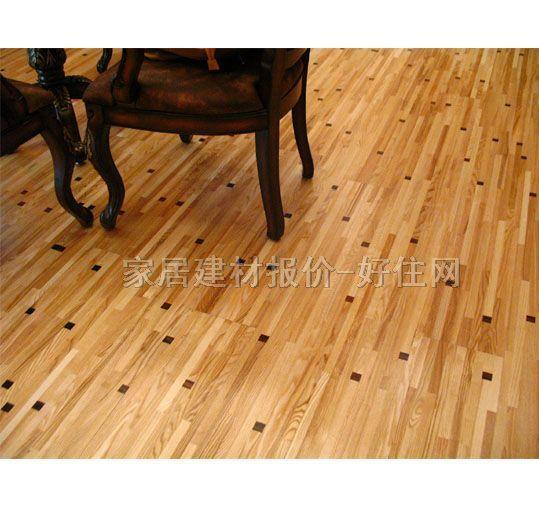特佳实木复合地板 三层实木复合 炫彩系列-鸡尾酒-蜡木-黑酸枝 2200mm