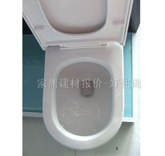 坐厕里面结构图