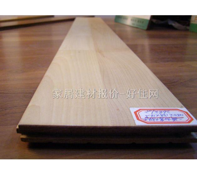 企口实木地板/企口实木地板三拼加拿大枫木/经销商