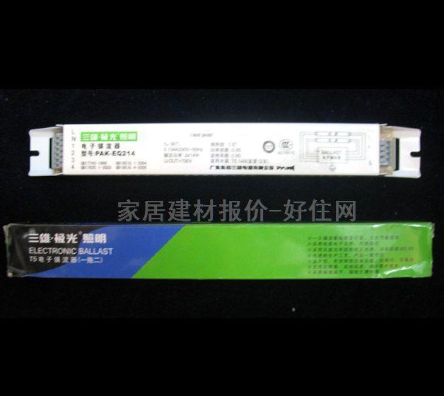 采用进口优质电子元件,性能稳定,无频闪,无噪音 先进的生产工艺,产品一致性好 采用无源功率因数校正电路,功率因数达0.95 宽松工作电压(170V~250V),宽工作温度(-10度~+40度) 温升低,有效降低空调负载 无需启辉器可启动,减少维护成本 钢板壳体,表面喷塑,接线端子式