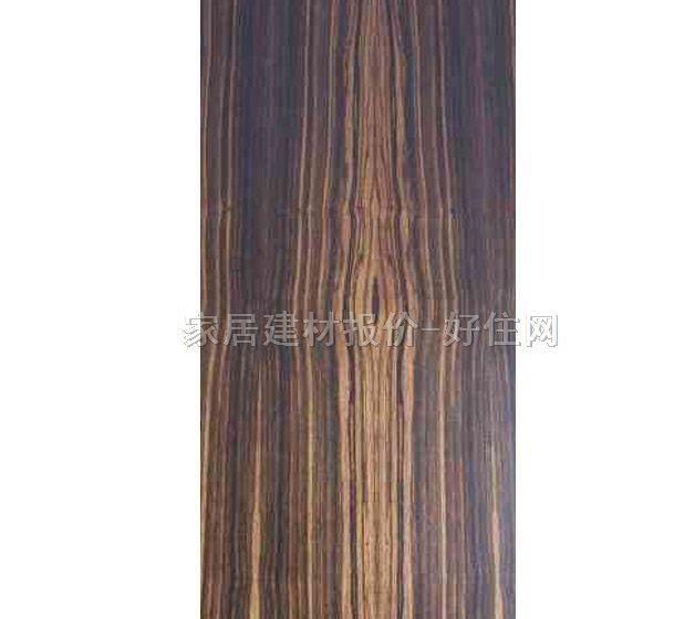 新隆天然木皮饰面板 e1级天然黑檀木 2440mm×1220mm×厚3mm
