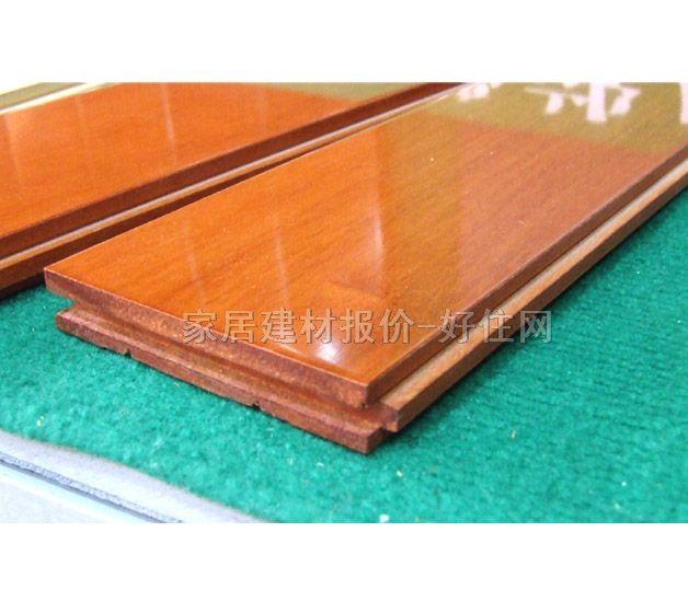 企口实木地板/企口实木地板香檀/经销商/扬子地板