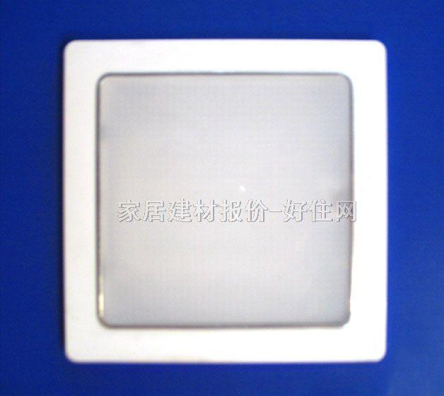 方形 款式风格 :现代流行风格 适配光源 :荧光管 灯罩颜色材质 :白底