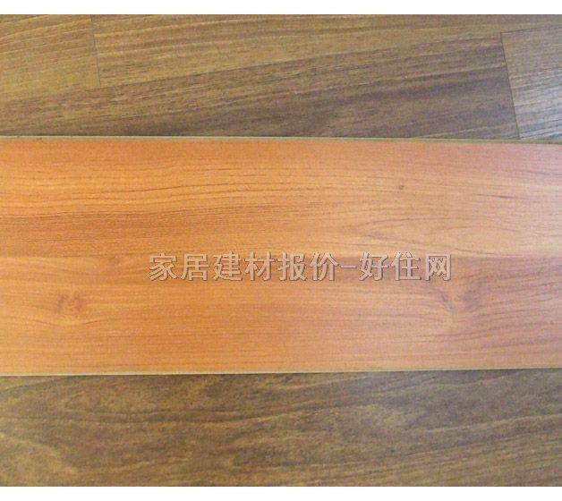 """强化地板介绍 强化木地板属于木材衍生材料,一般是由四层材料复合组成,分为耐磨层、装饰层、基材层与防潮层四层。俗称""""金刚板"""",标准名称为""""浸渍纸层压木质地板""""。表层是含有耐磨材料的耐磨纸,耐磨层为最表层的透明层,学名三氧化二铝(AL2O3)。二层是装饰层,即肉眼所看到的地板表层亲切逼真的木纹装饰层。基材层又名中间层,由天然或人造速生林木材粉碎,经纤维结构重组高温高压成型。分高密度板、中密度板、刨花板。底层防潮层是地板背面表层。采用高分子树脂材料,胶合于基材底"""