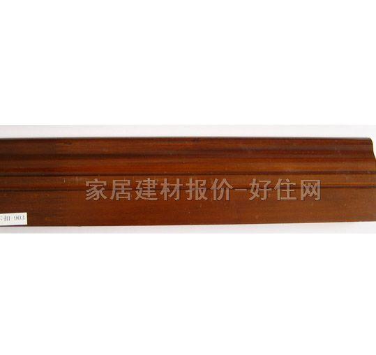 (财到)纯实木踢脚线地脚线白色仿古欧式100%进口钢琴烤漆面