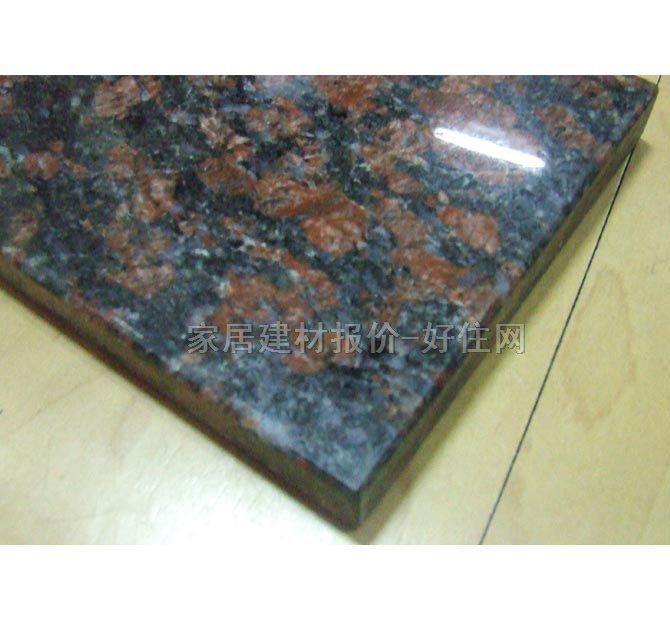 黑金沙 橱柜台面石材 天然大理石 红棕 家私家具,厨房家具