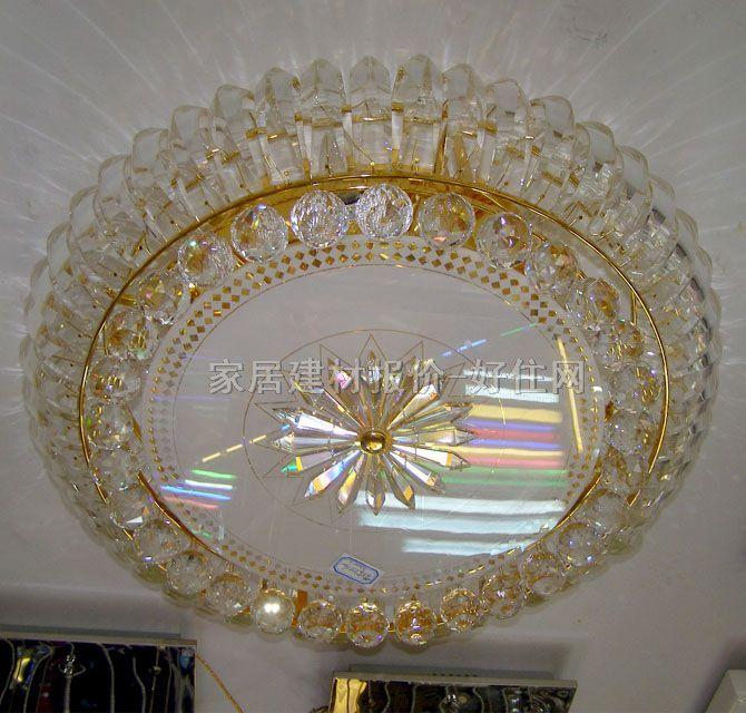 欧式水晶吊灯白底图