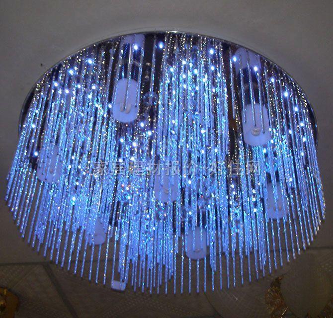 00元 银光吸顶灯客厅吸顶灯 9237/26方形大型奢华风格透明水晶玻璃