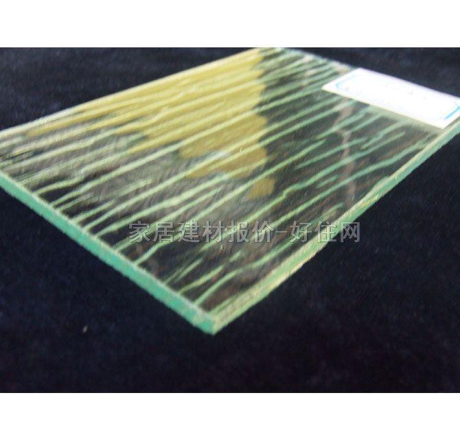 经典工艺玻璃 凹蒙玻璃树皮 5厘