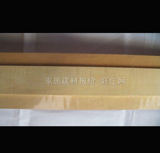 实木装饰线条 收口平线白木 100mm×5mm