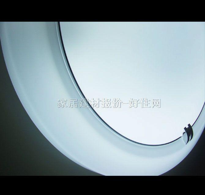 圆形 款式风格 :现代流行风格 适配光源 :节能灯 灯罩颜色材质 :白底